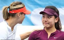 Sharapova an ủi mỹ nữ Trung Quốc vì chấn thương