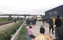 Kinh hoàng xe tải tông đoàn người đi bộ ở Hải Dương, 8 người tử vong