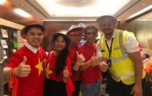 Thêm hàng trăm CĐV Việt Nam đã đến Dubai, sẵn sàng tiếp lửa cho trận gặp Nhật