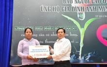 Công bố Quỹ bạn đọc Báo Người Lao Động ủng hộ 3 bé con vợ chồng bị tử nạn ở Bình Dương