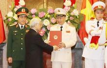 Bộ trưởng Tô Lâm và ông Lương Cường được phong hàm Đại tướng
