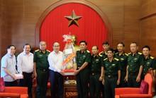 Bí thư Nguyễn Thiện Nhân thăm, chúc Tết Quân khu 7