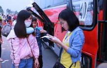 Chương trình Tấm vé nghĩa tình: Tiễn hơn 2.500 công nhân về quê ăn Tết