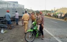 Xe tải từ Cần Thơ ra đảo Phú Quốc cán chết 2 người đi xe máy