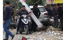 Xế hộp tông hàng loạt phương tiện, 2 vợ chồng tử vong, nhiều người bị thương