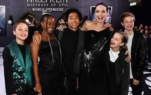 Pax Thiên tháp tùng mẹ nuôi Angelina Jolie trên thảm đỏ