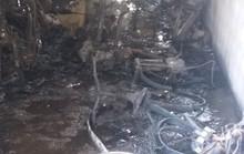 Cháy xưởng may, hơn 100 công nhân chạy thoát thân, 40 xe đạp điện và xe máy bị thiêu rụi