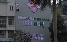 Tước giấy phép hoạt động một phòng khám có bác sĩ Trung Quốc