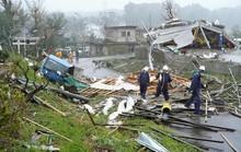 Nhật Bản dồn dập đón siêu bão và động đất, có người thiệt mạng