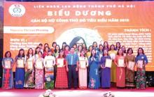 Hà Nội: Tuyên dương 90 cán bộ nữ công tiêu biểu