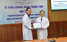 BV Đại học Y Dược TP HCM nhận chứng nhận thay van động mạch qua da