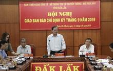 Xác minh thông tin một phó phòng ở Tỉnh ủy Đắk Lắk không có bằng cấp 3