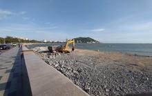 Dự án lấn biển làm thủy cung ở Vũng Tàu: Tỉnh nói ngưng, công trình vẫn thi công!