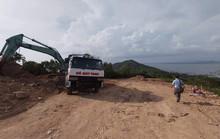 Diễn biến mới nhất vụ bạt núi Lớn để xây biệt thự không phép