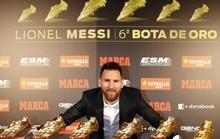 Nhận Chiếc giày vàng thứ 6, Messi tri ân hai nhân vật đặc biệt