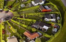 Ngôi làng có kiến trúc như của người ngoài hành tinh ở Đan Mạch