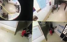 Xông vào bóp cổ, đánh nữ điều dưỡng rồi đứng giữa cổng Trung tâm Y tế thách thức