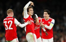 Tân binh 72 triệu bảng lập công, Arsenal toàn thắng Europa League