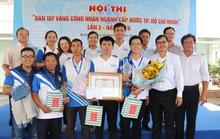 Sôi nổi hội thi Bàn tay vàng công nhân ngành Cấp nước TP HCM