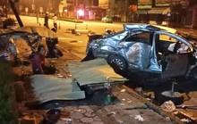 Xe 4 chỗ bị xe khách tông nát, 3 người tử vong, tài xế nguy kịch