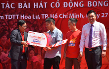 Hành trình hát vì đội tuyển: Ca khúc Khát khao Việt Nam giành giải nhất