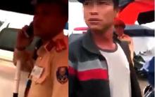 Vụ người dân ghi hình tại chốt CSGT bị hành hung: Xác định người lạ mặt cầm bộ đàm
