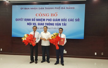 Đà Nẵng bổ nhiệm 2 phó giám đốc sở