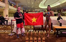 Thể hình Việt Nam thắng lớn tại giải vô địch châu Á
