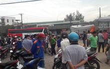 TP Biên Hòa: Xe ben cán ngang người 1 em học sinh rồi bỏ chạy