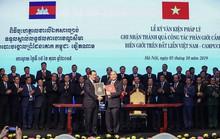Việt Nam - Campuchia hoàn thành 84% phân giới cắm mốc