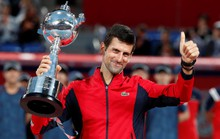 Giành chiến thắng thứ 46 trong năm, Djokovic vô địch Nhật Bản mở rộng
