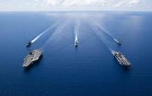 Nhóm tàu chiến Mỹ làm dậy sóng biển Đông