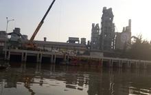 Vỡ đường ống dầu tại Công ty Xi-măng Chinfon Hải Phòng