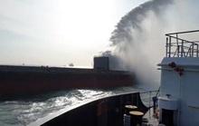 Clip: Cháy tàu hàng Trung Quốc chở hơn 4,7 nghìn tấn sắt phế liệu