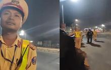 Dân ghi hình CSGT, bị 2 người bán sữa cản trở, nhờ xoá clip
