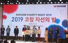 Hơn 4 tỉ đồng từ Đêm từ thiện KOCHAM