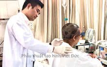 Người phụ nữ bị máy làm ren sắt lột phăng da đầu và da vùng mặt