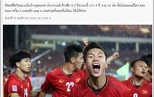 Báo chí Thái hết dám gáy trước trận gặp Việt Nam