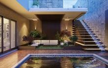 Ngôi nhà phố sở hữu hồ bơi tuyệt đẹp