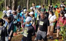 Hàng ngàn người chạy bộ xuyên rừng quốc gia Bidoup Núi Bà