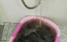 Kinh hãi: Nước sinh hoạt Nha Trang đen như cà phê