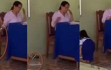 Cảnh cáo về mặt Đảng đối với cô giáo ném vở học sinh xuống nền gạch