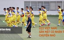 Thầy trò HLV Park Hang-seo không ngại sân mặt cỏ nhân tạo