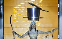 Hoàng Thùy mang Café phin sữa đá lên đường dự thi Hoa hậu Hoàn vũ 2019
