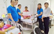 Hỗ trợ đoàn viên mắc bệnh hiểm nghèo