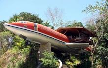 Những ngôi nhà độc đáo được chế tạo từ máy bay, tàu hỏa