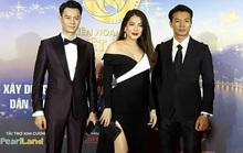 Lan Phương, Ngọc Ánh, Thanh Thuý đọ sắc trên thảm đỏ liên hoan phim