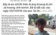 Lười chăn bò, cháu bé 11 tuổi bịa chuyện bị bắt cóc gây hoang mang dư luận