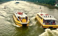 Gấp rút xây dựng bến trung tâm của buýt sông