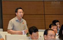 Đại biểu Lưu Bình Nhưỡng tranh luận với Đại biểu Nguyễn Quang Dũng